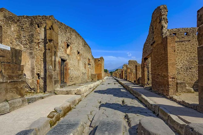 Private Pompeii Day Trip From Rome by Fast train & Minivan
