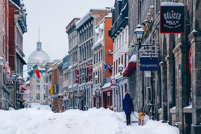 Winter Charms of Old Montreal + Notre-Dame Basilica - Small Group Walking Tour