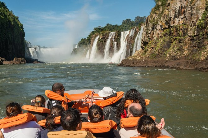 Brazilian Side of the Falls and Boat Tour Macuco Safari - All Tickets Included