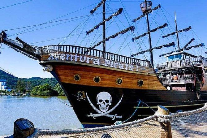 Combo Barco Pirata, Praia e Parque Unipraias com traslados
