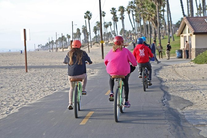 Biking, Sunset, Surf & Sips at Huntington Beach