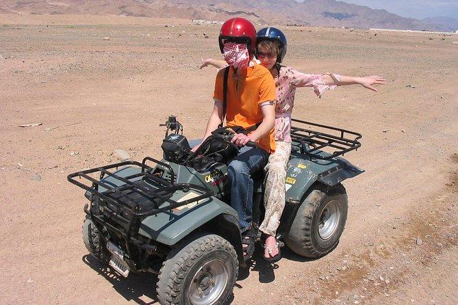 Desert Safari 4x1 Quad Camel Dinner Show