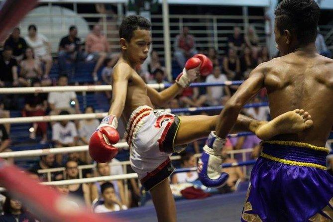Muay Thai Boxing at Patong Boxing Stadium