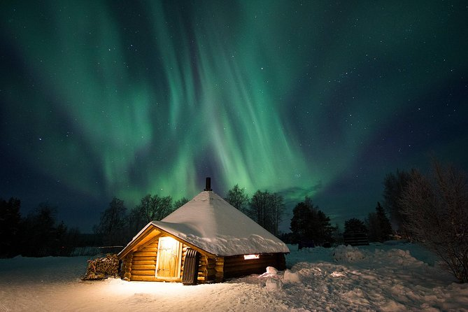 Northern Lights Experience with Ice Hotel Visit and Traditional Dinner