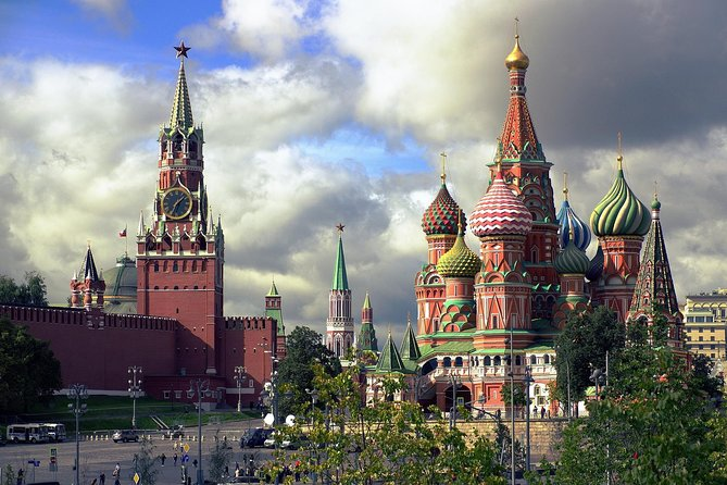 St Basil's Cathedral & Red Square Kremlin Tour