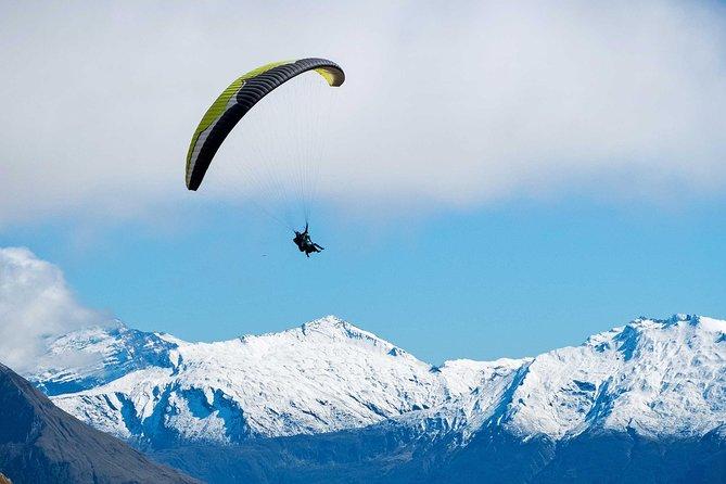 Tandem Paragliding Flight - Wanaka Paragliding