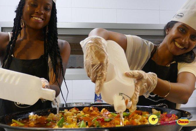 Vegetar Paella Cooking Class og Market Tour i Valencia