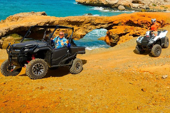 UTV & ATV Aruba's Secret Beach & Cave Pool Adventure