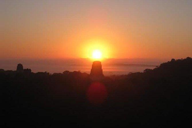Tikal Sunrise tour from Flores