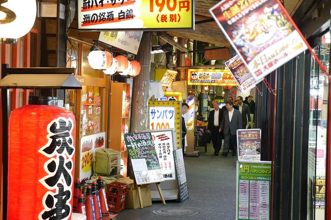 Deep Osaka All-Inclusive Nighttime Foodie Cultural Experience