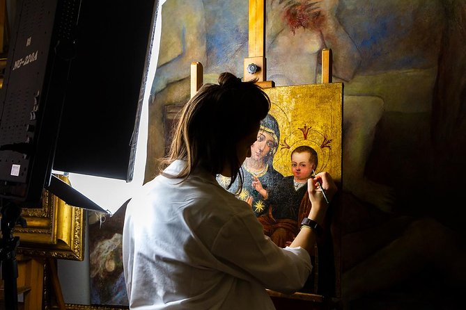 Caravaggio Rome Tour: With Exclusive Access to Top Restoration Lab