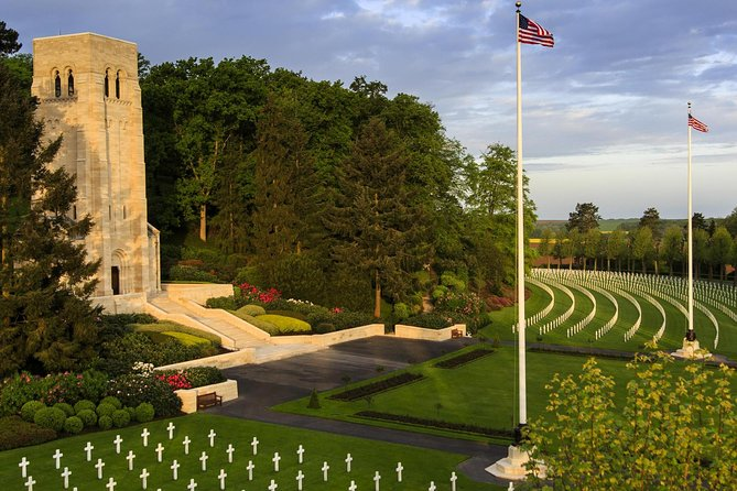 Small Group WW1 USA Tour : Belleau Wood and Champagne Tasting