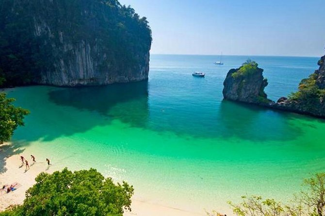 Island Hopping from Hong to James Bond Islands from Krabi with Speedboat