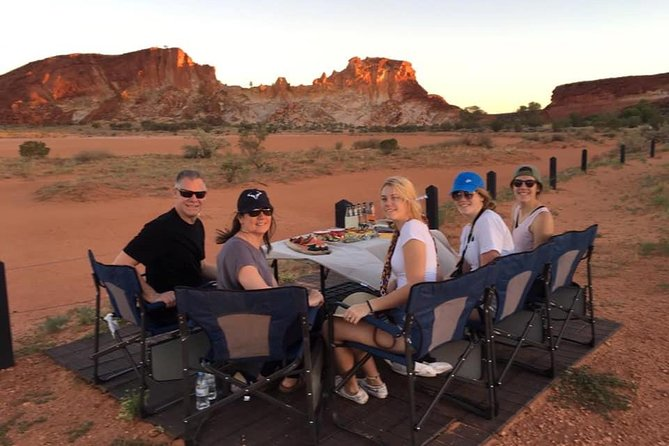 Private Rainbow Valley Sunset & Supper Tour