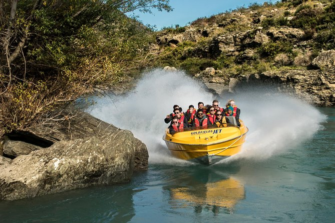 Jet Boat Experience on the Kawarau River with Goldfields Jet