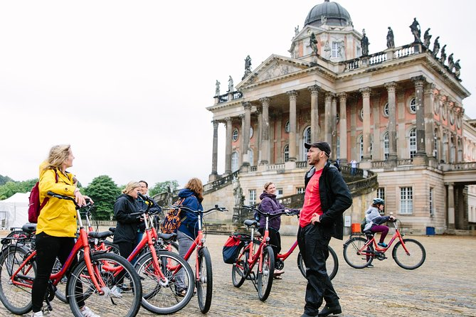 Potsdam Bike Tour with Rail Transport from Berlin