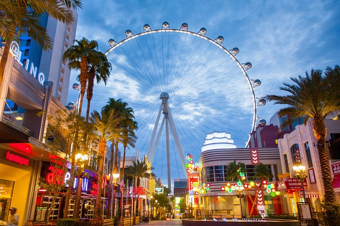 High Roller World's Largest Observation Wheel at The LINQ