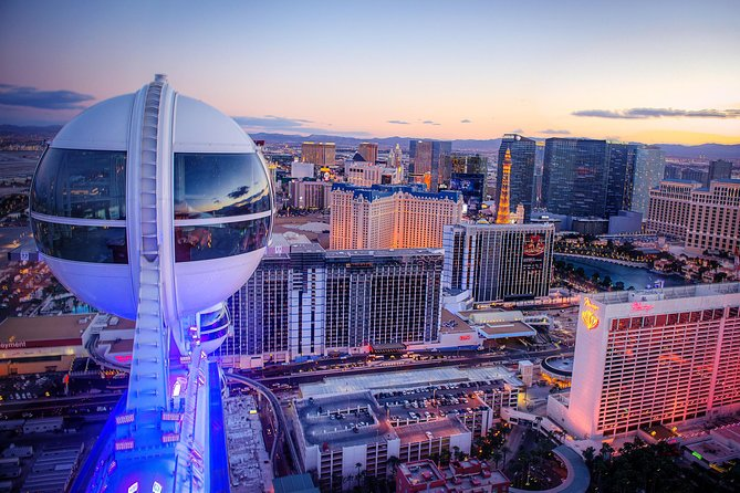 High Roller Observation Wheel Happy Hour at The LINQ Las Vegas