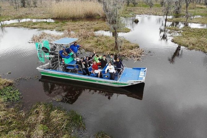 Small-Group Swamp Tour by Airboat with Downtown New Orleans Pickup