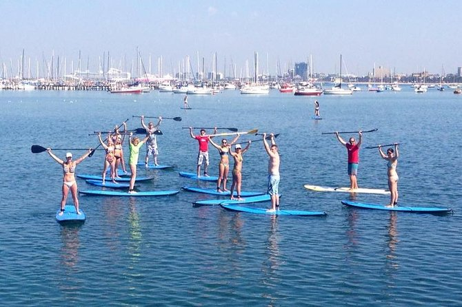 St Kilda Stand-Up Paddle Board Rental