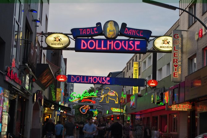 Excursão a pé em Hamburgo: Red Light District e Reeperbahn