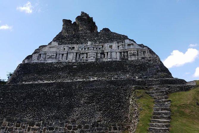 Combo Tour Cave Tubing and Xunantunich Mayan Site - fun day in Belize