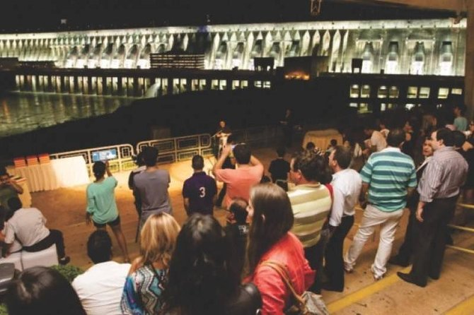 Itaipu Evening Light Show Admission Ticket from Foz do Iguacu