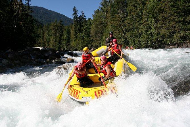 Nahatlatch River Rafting - 24 Amazing Rapids