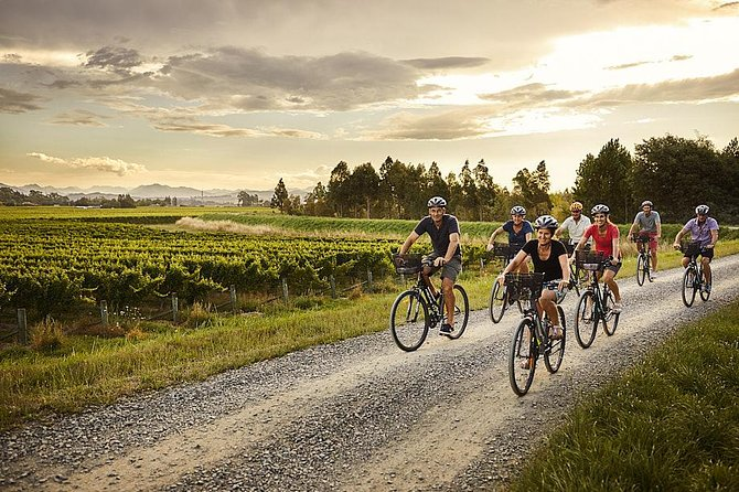 Self-Guided Biking Wine Tour