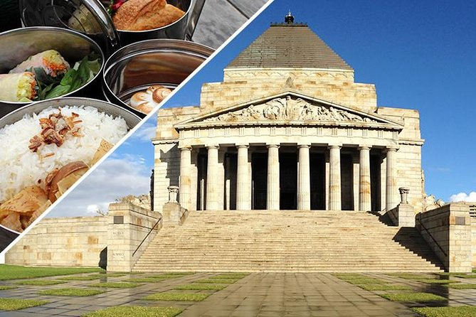 Shrine of Remembrance: Tour and a Tiffin