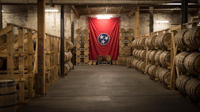 Bourbon Barrels at Nelson's