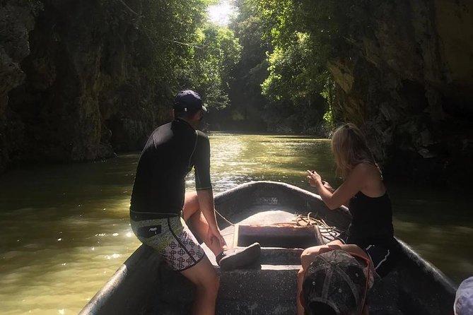 Underground River in Bayano Cave - Private