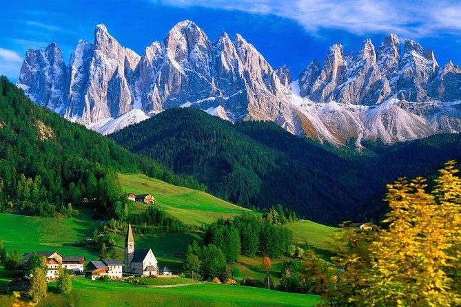 From Bolzano: The Episcopal City of Bressanone, Novacella Abbey and Funes Valley