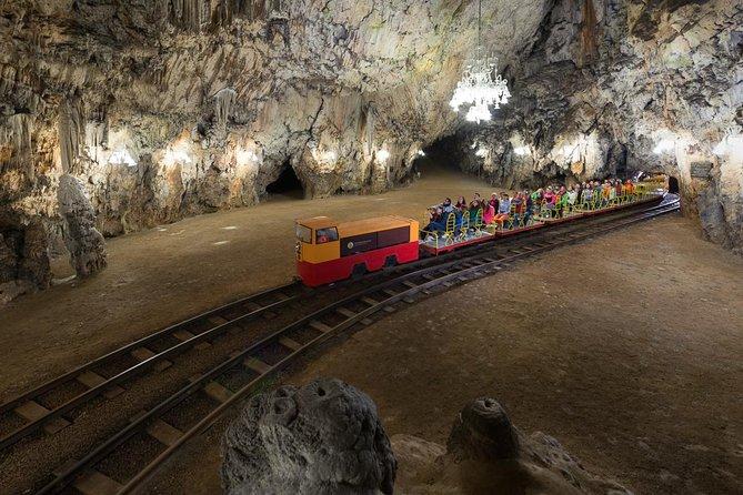 Magical Postojna cave and Predjama castle from Koper