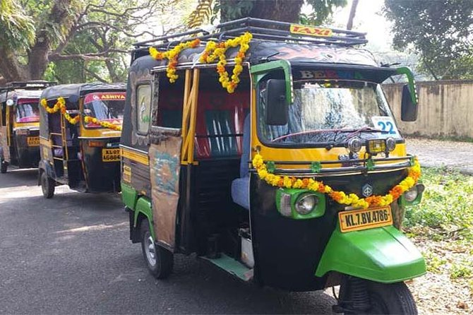 Cochin tuk tuk tours and One hour Backwater Tour with pickup from Cruise ship photo 9