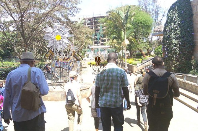 Nairobi city walking tour by a local guide