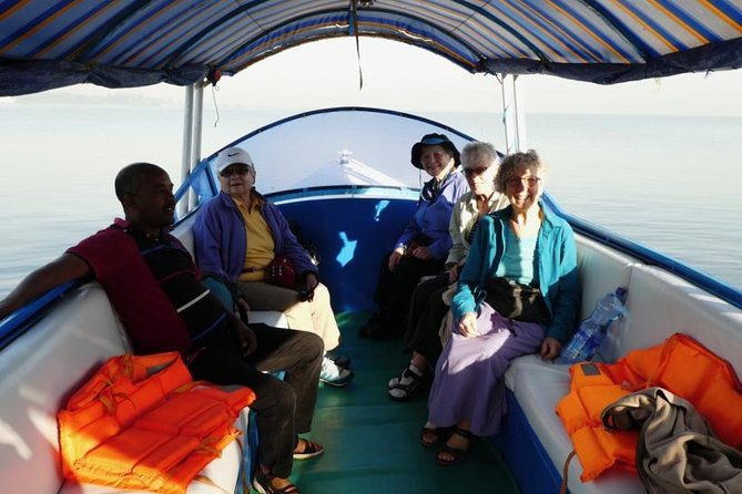 Explore Ethiopia's largest lake Tana and the outlet of the Blue Nile