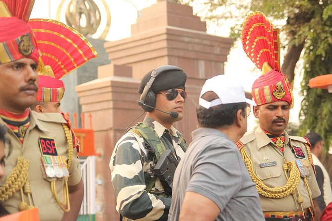 Wagah Border Soliders