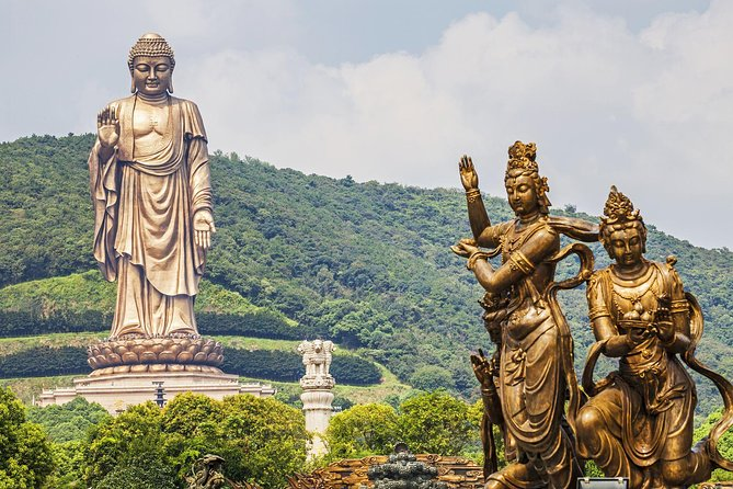 Wuxi Lingshan Grand Buddha Private Tour from Nanjing by Bullet Train