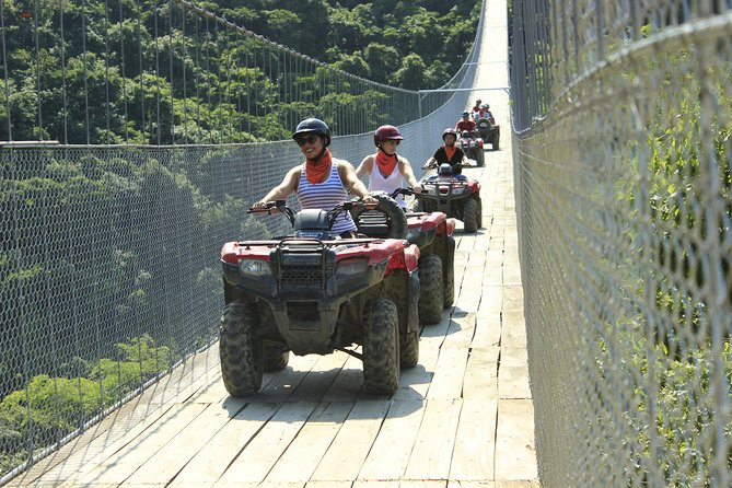 ATV Jorullo Bridge from Puerto Vallarta