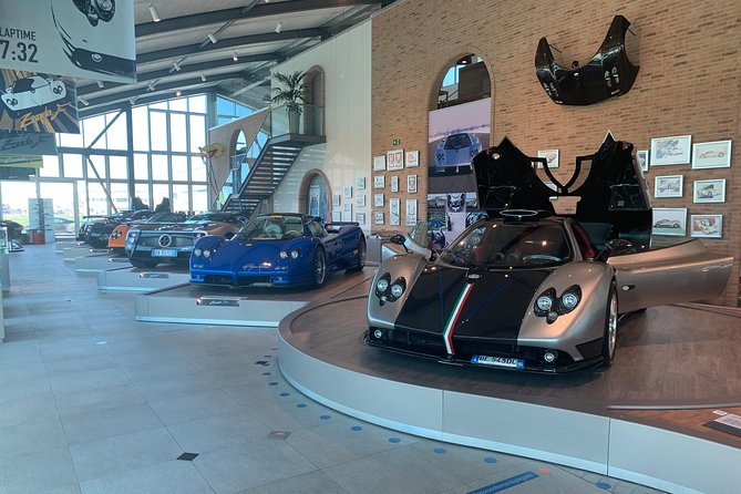 Pagani Ducati Lamborghini Factory and Museum Day Tour from Bologna