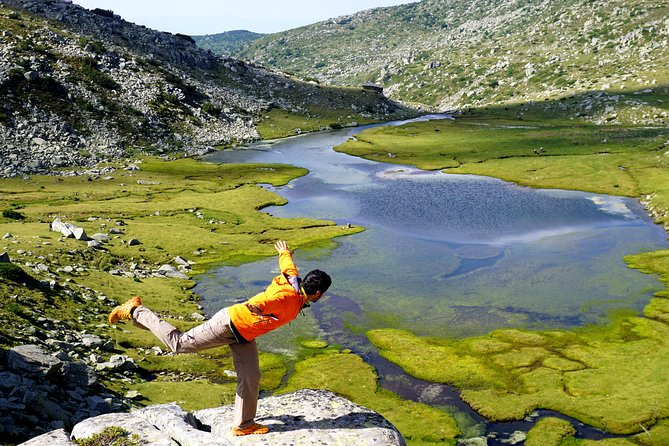 The Seven Rila Lakes and Pristine waterfall