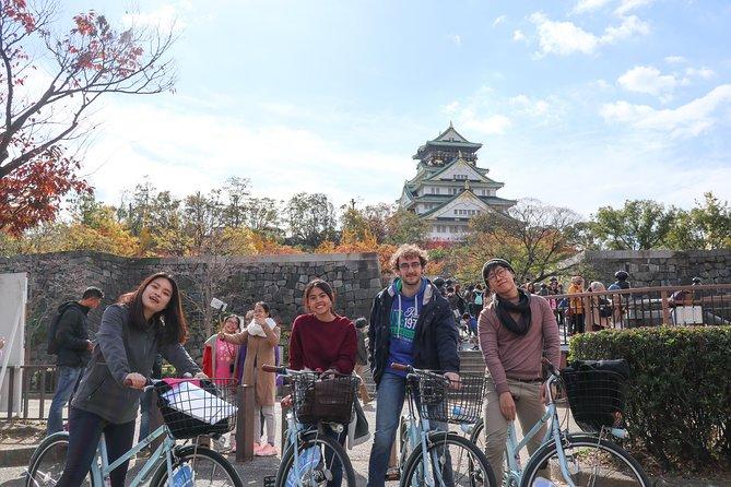 Osaka Bike Tour to the Neighborhood of Osaka Castle