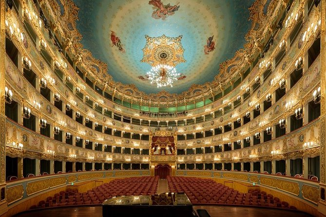 Skip the Line: Fenice Theatre Admission Ticket and Audioguided Tour