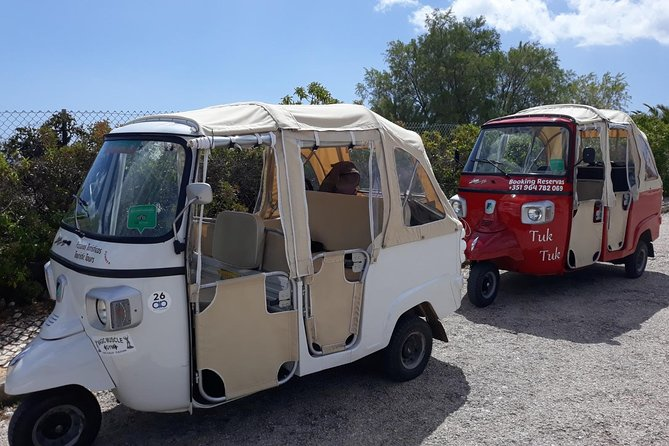 Private Guided Tuk-Tuk Tour with Pick-Up and Drop-Off of Albufeira