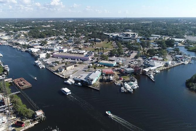 Fantastic Helicopter Tour- Tarpon Springs, Clearwater beaches & Caladesi Island