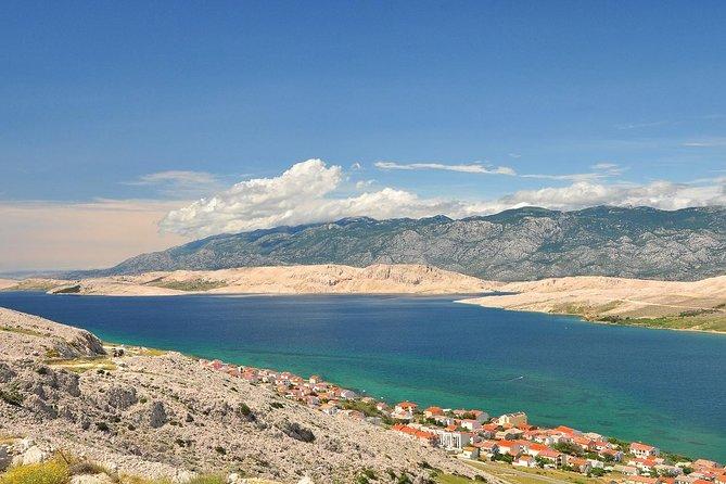 From Split Airport to Novalja (Zrce Beach) Round trip