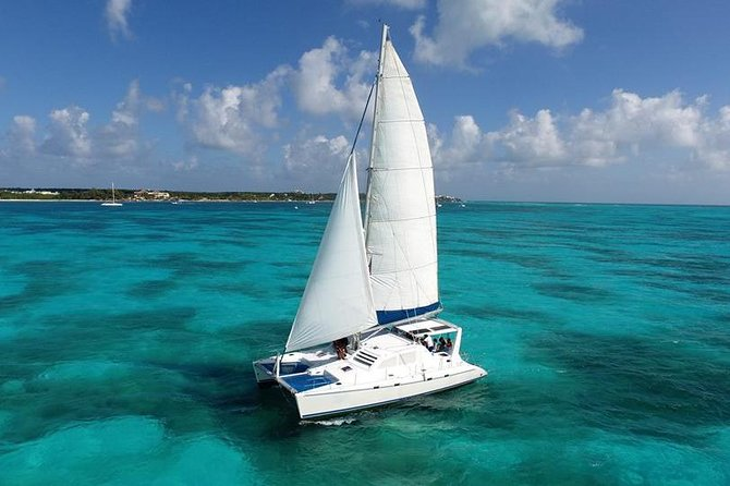 Isla Mujeres Catamaran Luxury Sailing Experience from Puerto Morelos