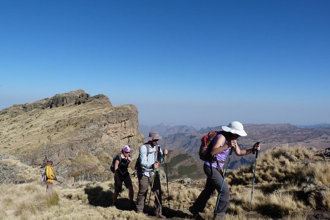 3 Days Trekking the spectacular Simien Mountains
