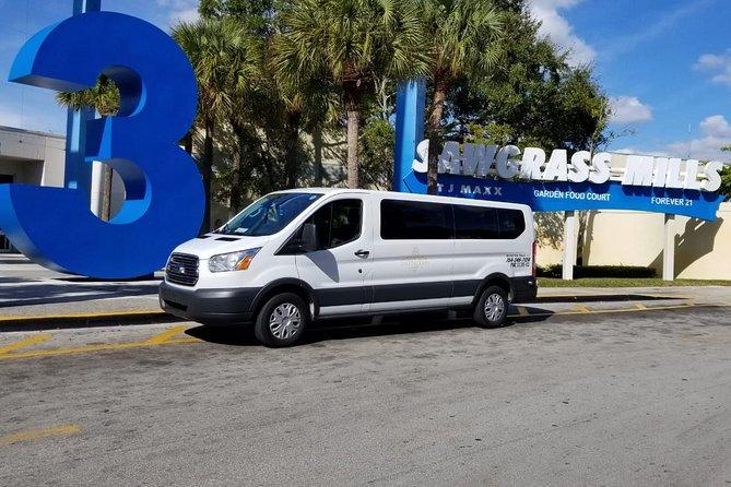 Sawgrass Mills mall Transportation - Fastest service